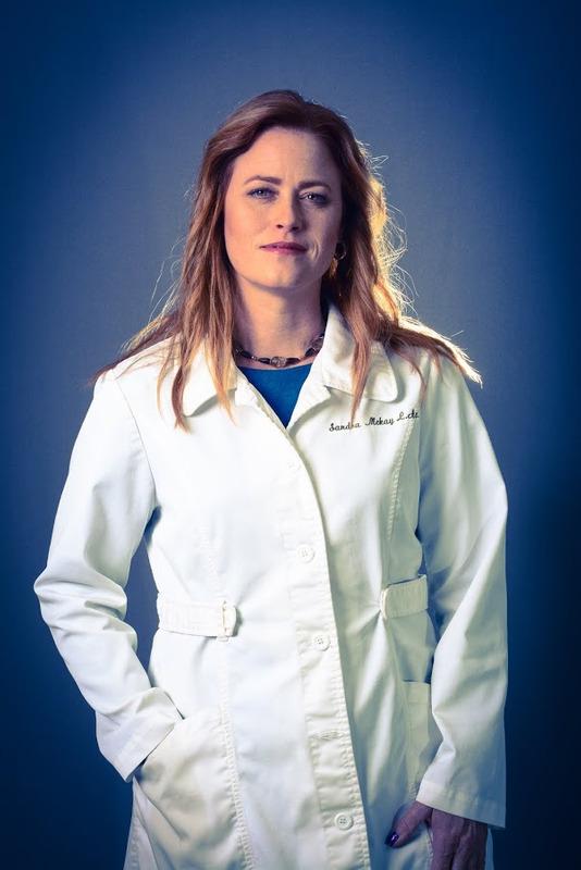Sandra McKay in uniform