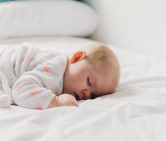 Michelle's baby sleeping
